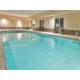 Indoor Swimming Pool at the Holiday Inn Express Topeka North