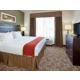 Guest Room at the Holiday Inn Express and Suites Topeka North