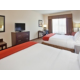 Two Queen Bed Guest Room at the Holiday Inn Express Topeka North
