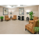 Hotel Lobby at the Holiday Inn Express and Suites North Topeka