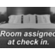 Room assigned at check in