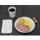 Ham and Eggs for Breakfast and it is included in your room rate!