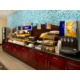 Enjoy a complimentary hot breakfast with your stay!