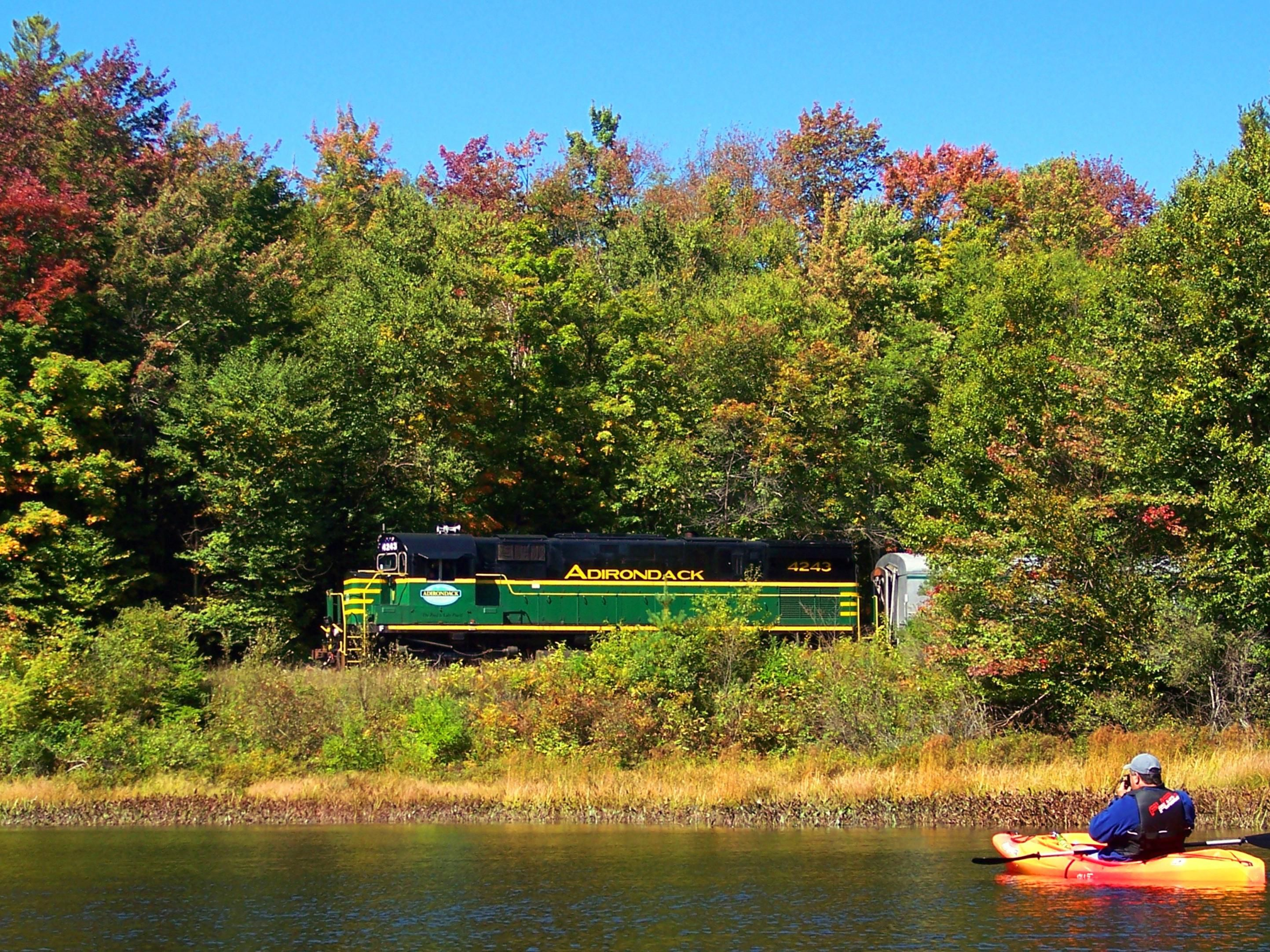 Just a short drive, or train ride, to the Adirondack Park