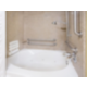 ADA/Hearing accessible King Suite Guest Bathroom with jetted tub