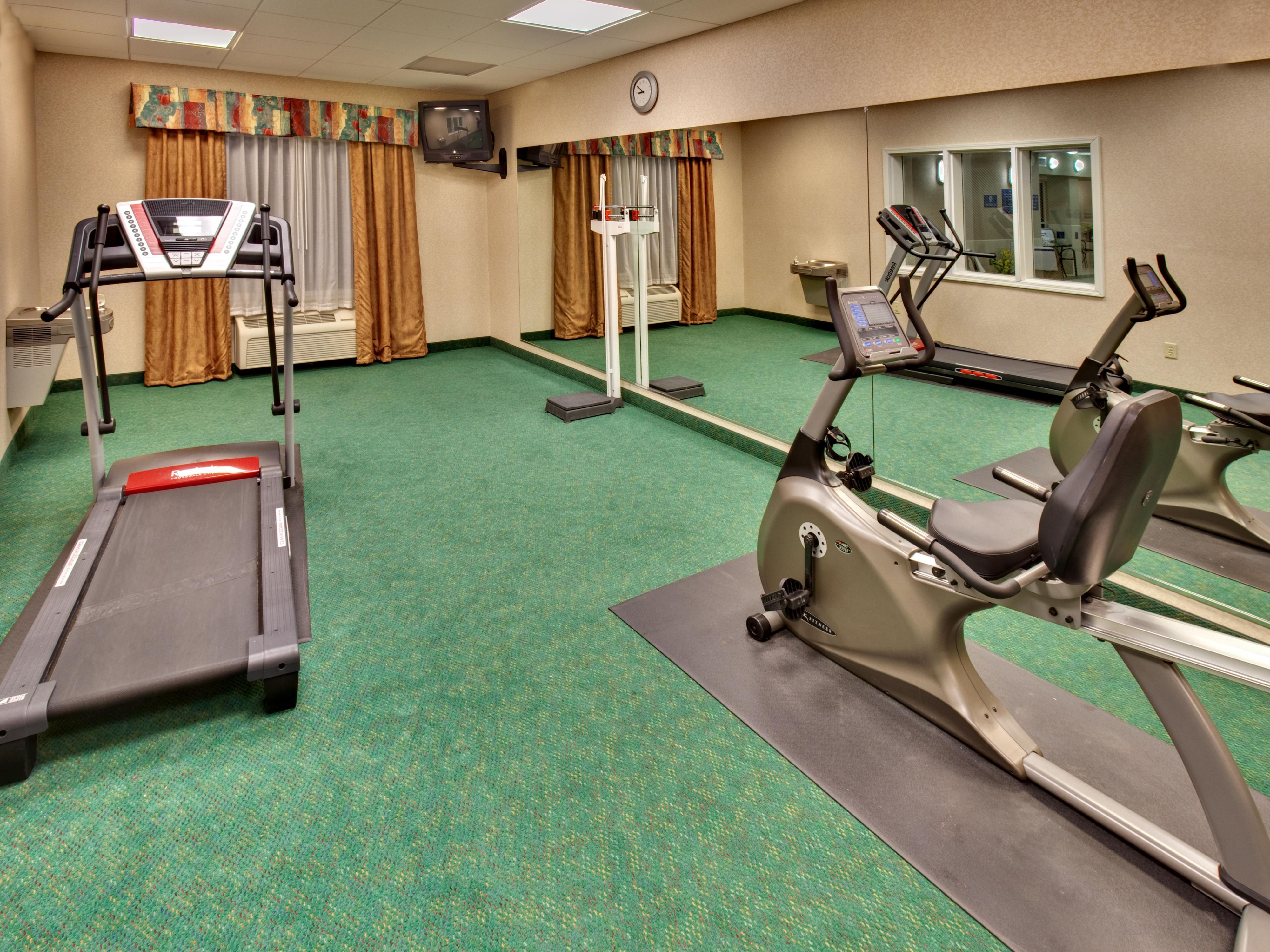 Holiday Inn Express Vermillion Fitness Center