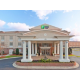 Welcome entrance at the Holiday Inn Express and Suites Vicksburg