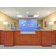 Front Desk at Holiday Inn Express Vicksburg Mississippi