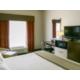 King Bed Guest Room and work desk Holiday Inn Express Vicksburg