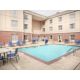 Outdoor Seasonal Swimming Pool at the Holiday Inn Express & Suites