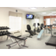 On-site fitness center at the Holiday Inn Express and Suites