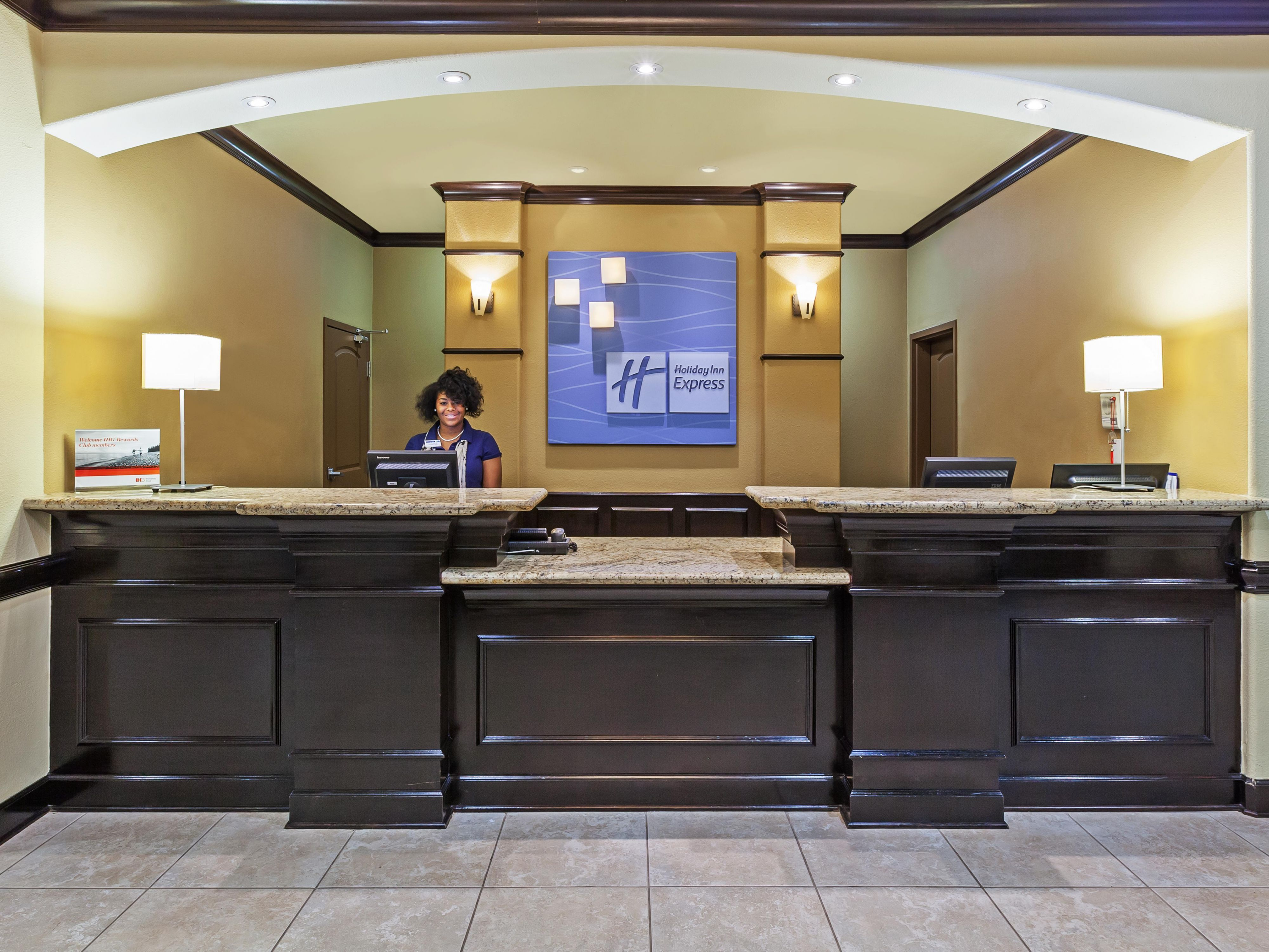Our friendly Front Desk staff are here to assist you