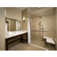 Wheelchair Accessible Roll-In Shower Bathroom