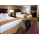 Holiday Inn Express Wadsworth Two Queen Beds Executive Suite