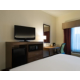 King Accessible Guest Room TV, Microwave and Refrigerator