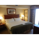 One bedroom of the two bedroom suite