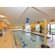 Indoor Salt Water Pool with Kids play area.