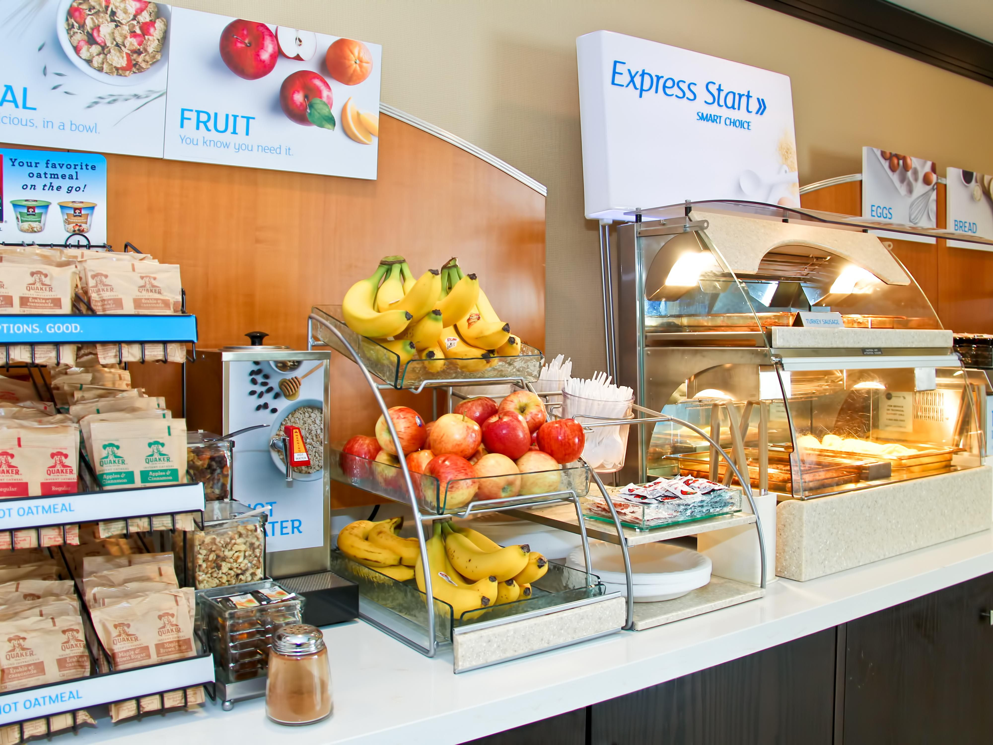 Our Complimentary Hot Buffet Breakfast is Served Daily from 6-10am