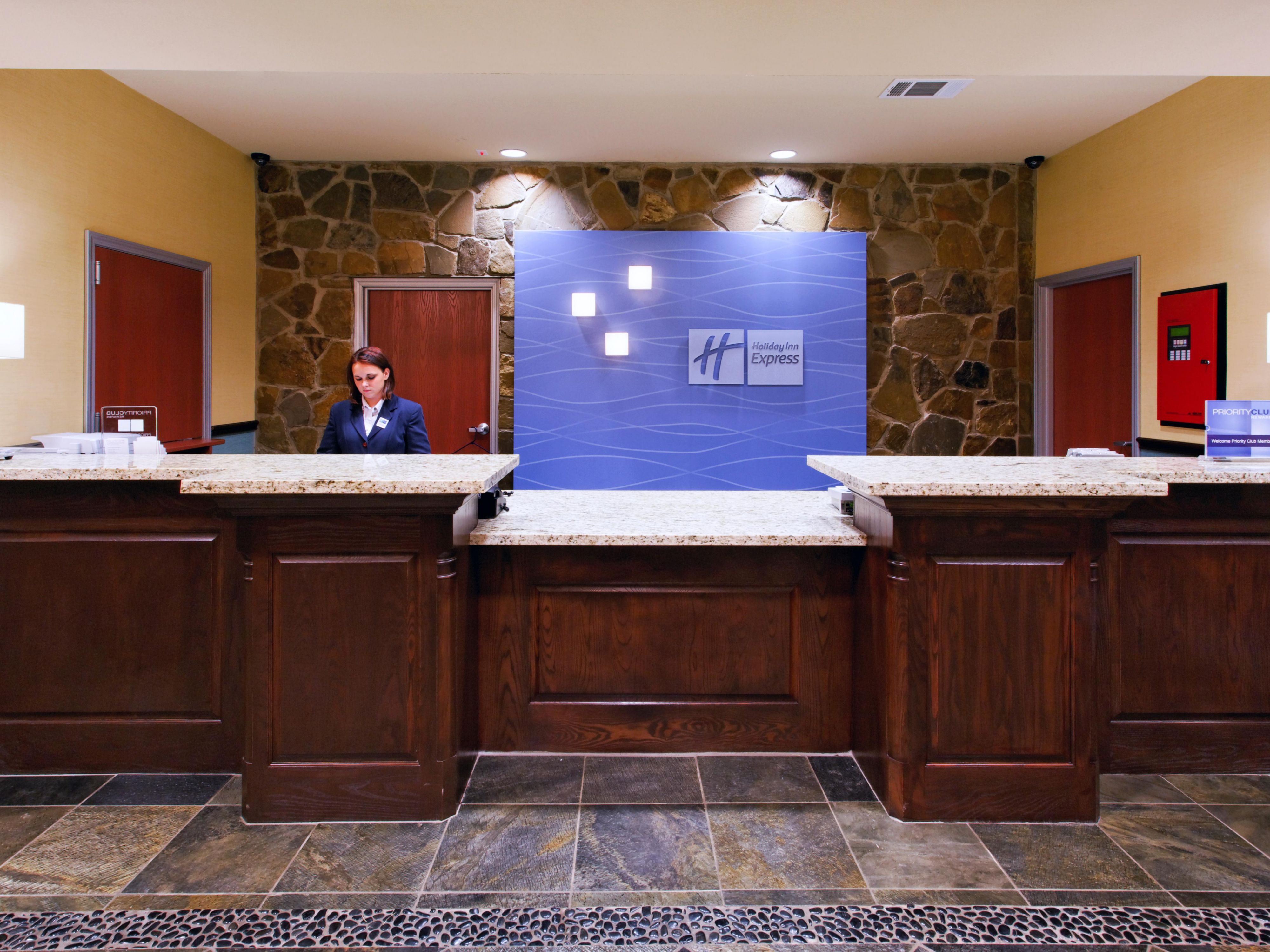 Weatherford Hotel Reception