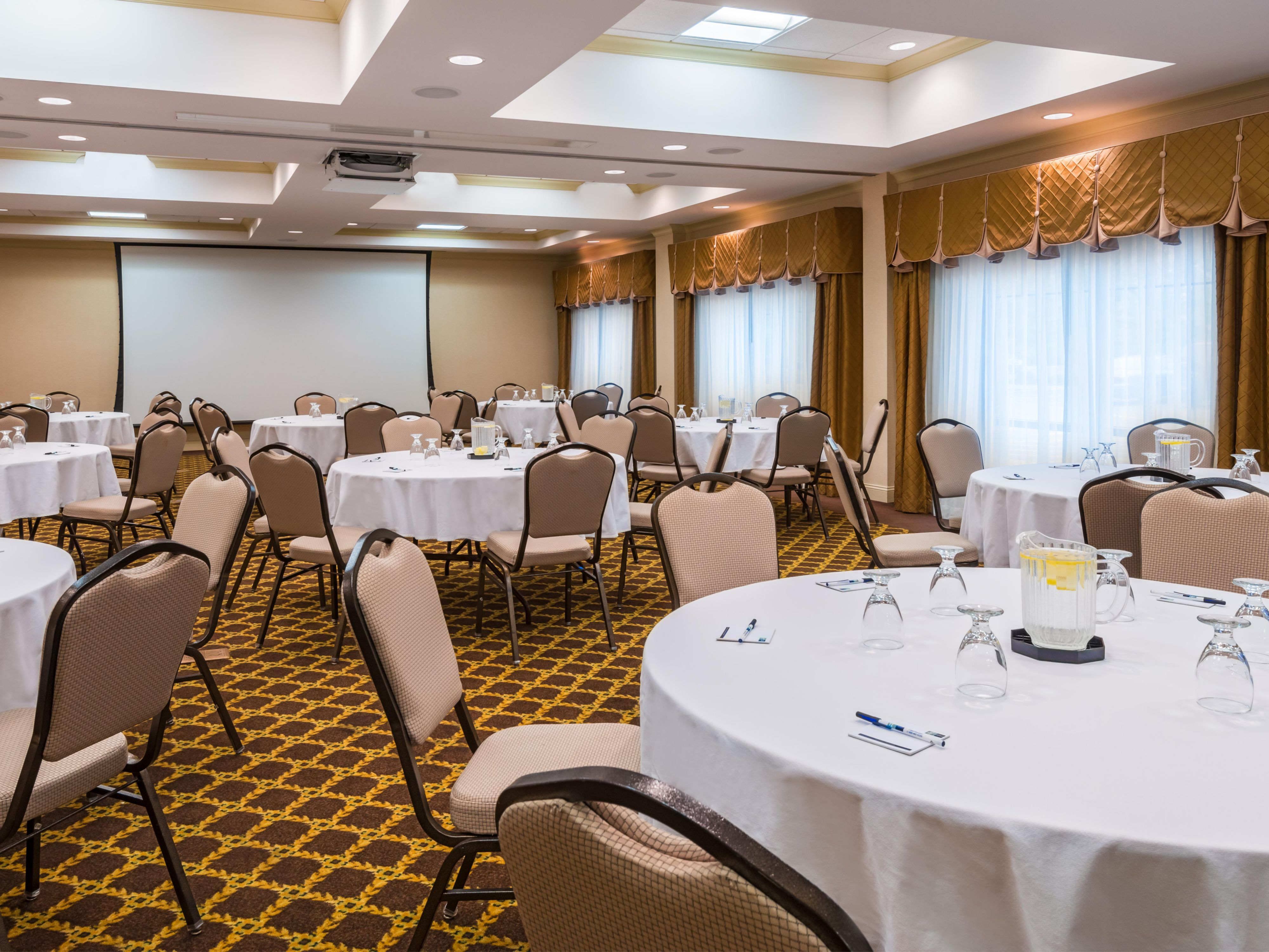 Book your event in the ball room
