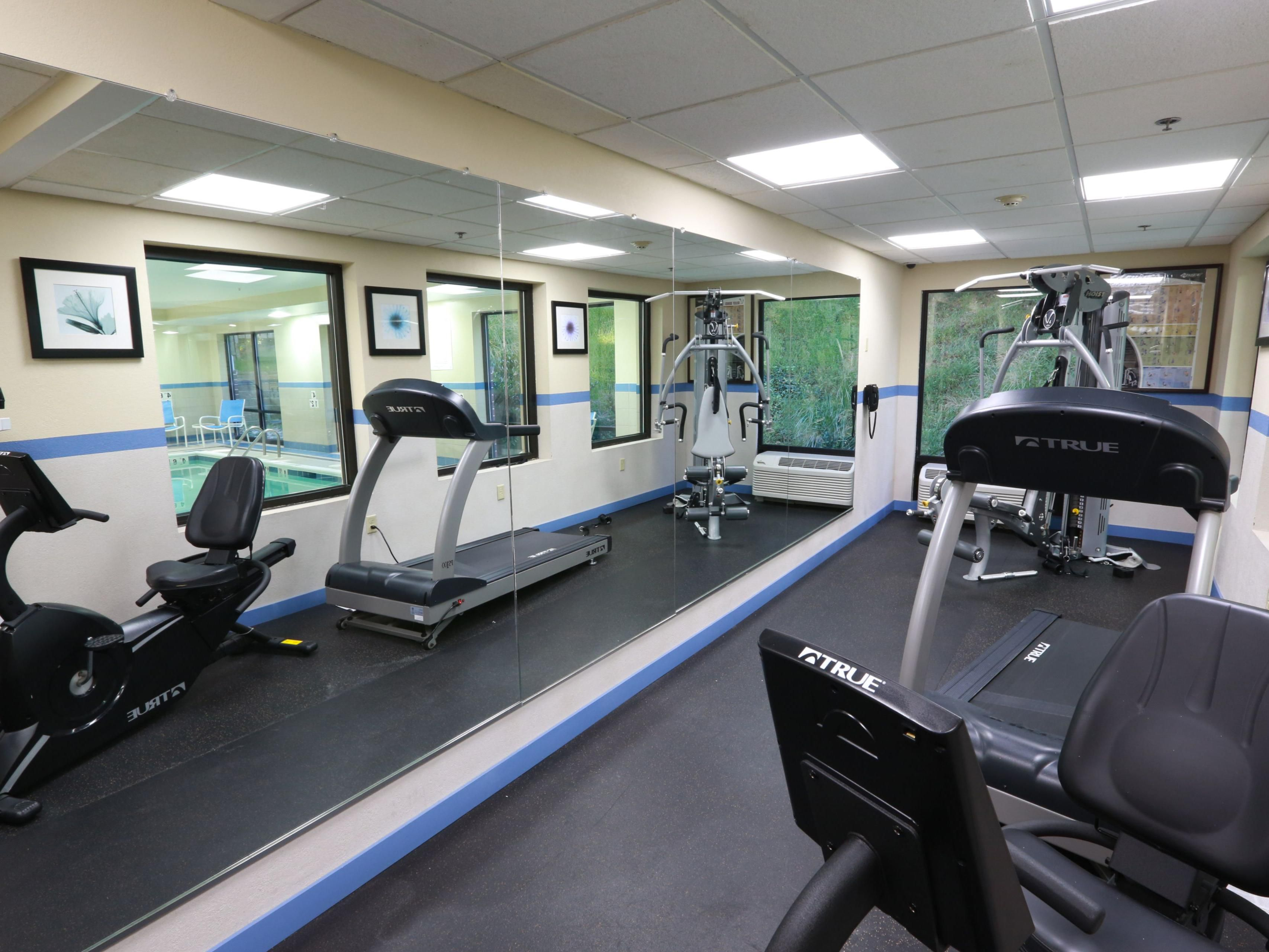 Enjoy our fully equipped cardiovascular fitness center