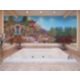 Themed Spa Suite. Rectangular jetted tub. South Pacific.
