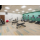 24 hour fitness center with free weights and much more.