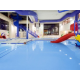 Grins & Fins Water Park with Wet & Wild Jungle Gym