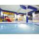 Splash around in our indoor Grins & Fins Water Park