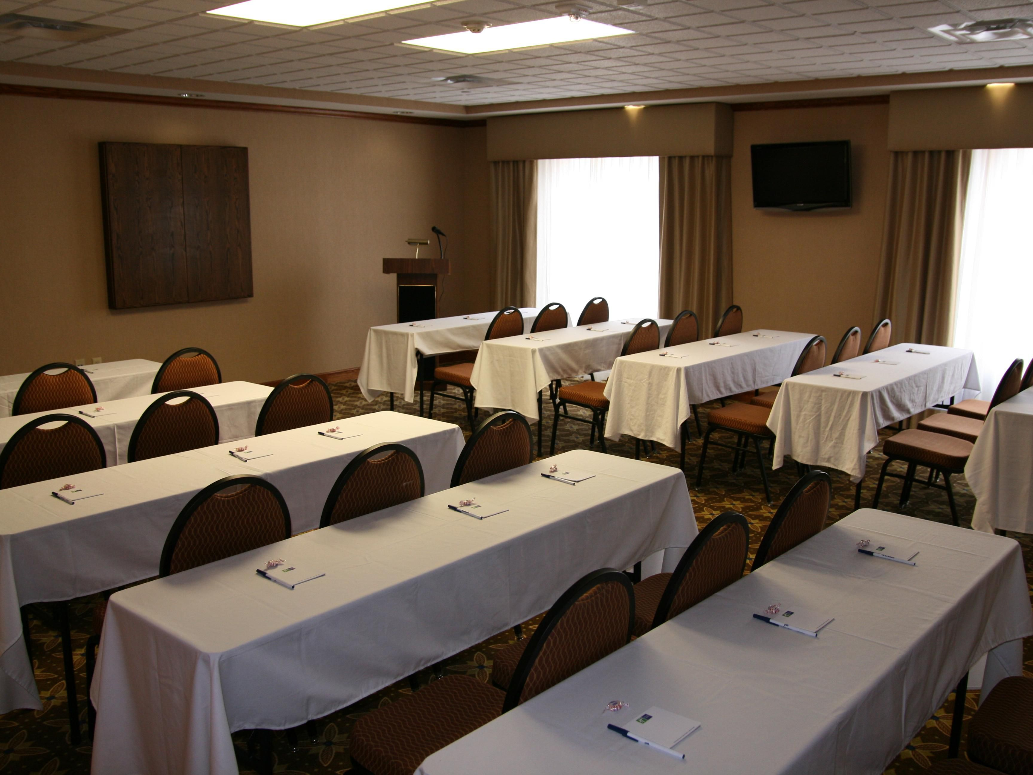 Book your next event or party in our spacious Meeting Room