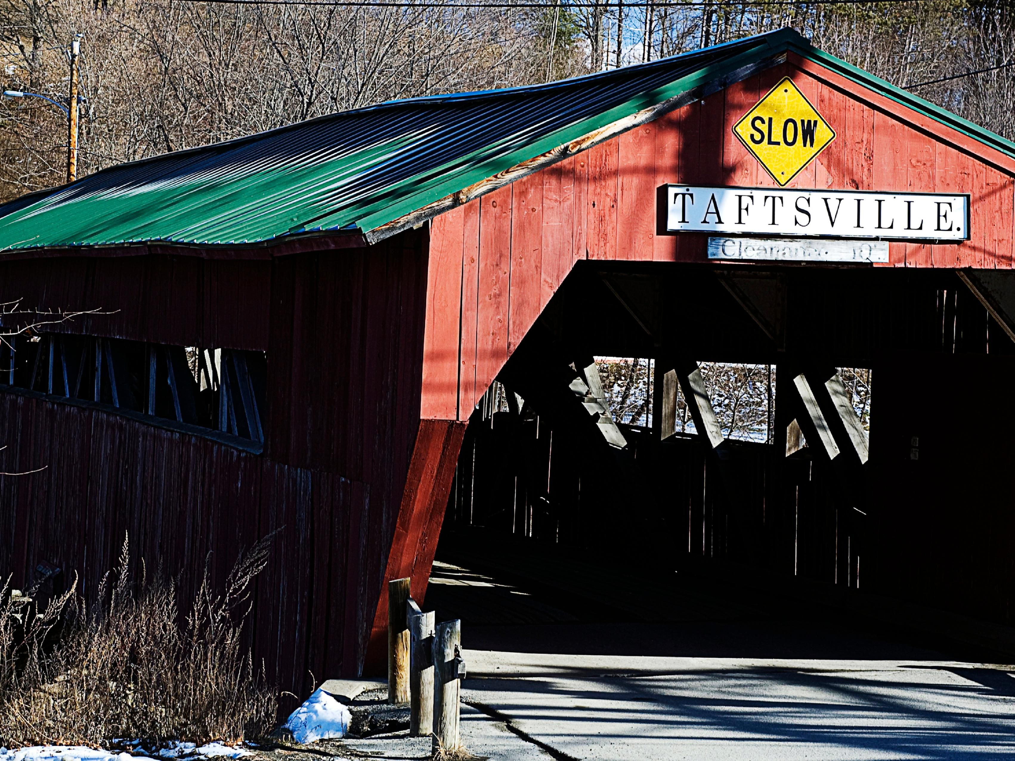 Close to many local covered bridges