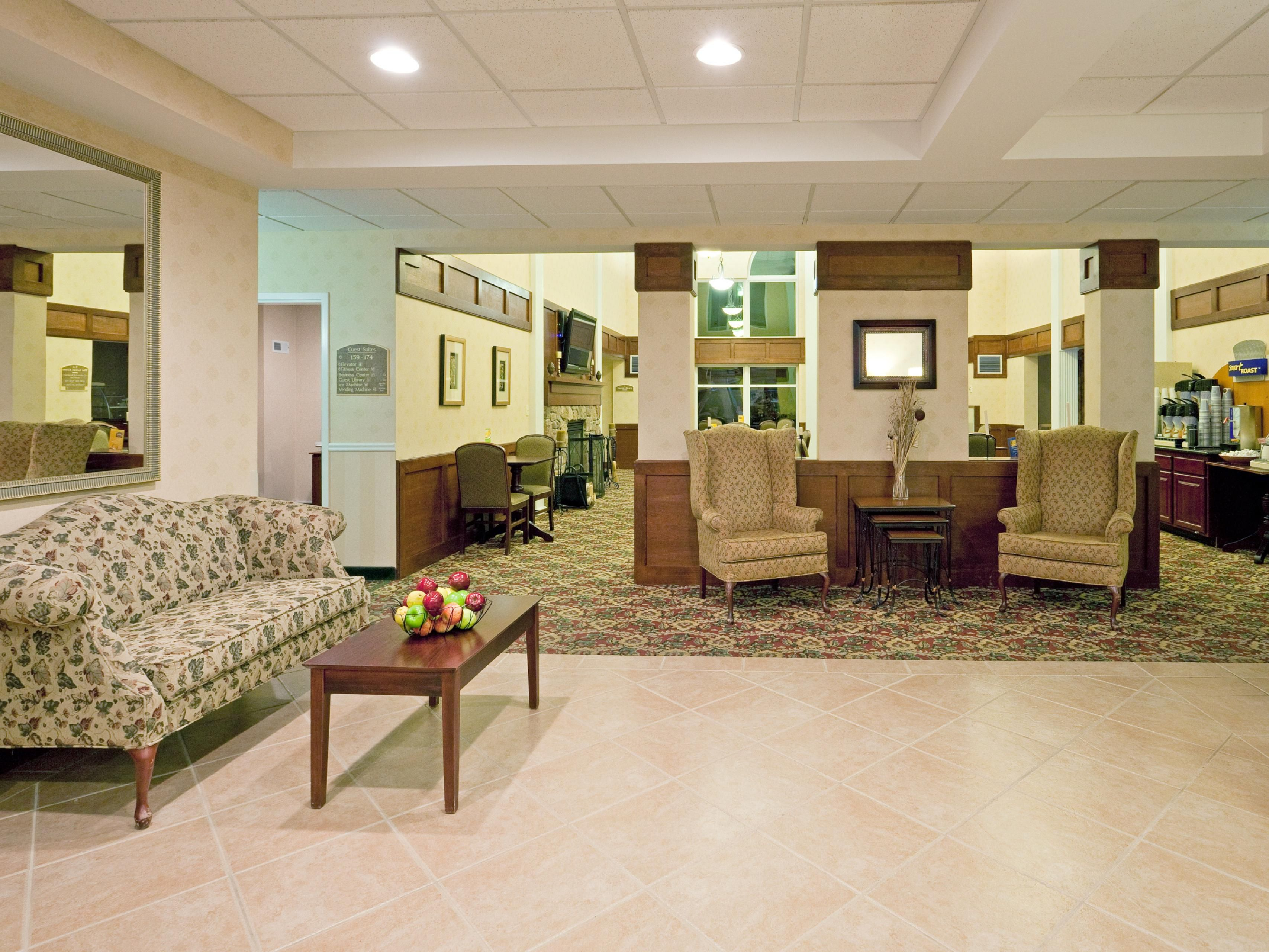 Welcome to the Holiday Inn Express & Suites White River Junction