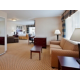Corner King Conference Suite with sofa-bed and wet bar
