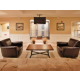 Relax or network in the spacious hotel lobby.