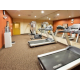24 hour fitness center with Precor equipment.