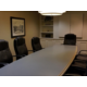 The boardroom offers can accommodate up to 12 people.