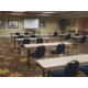 Our meeting space can be set up a variety of ways for your event.