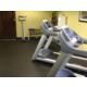 We have an array of exercise equipment in our fitness center.