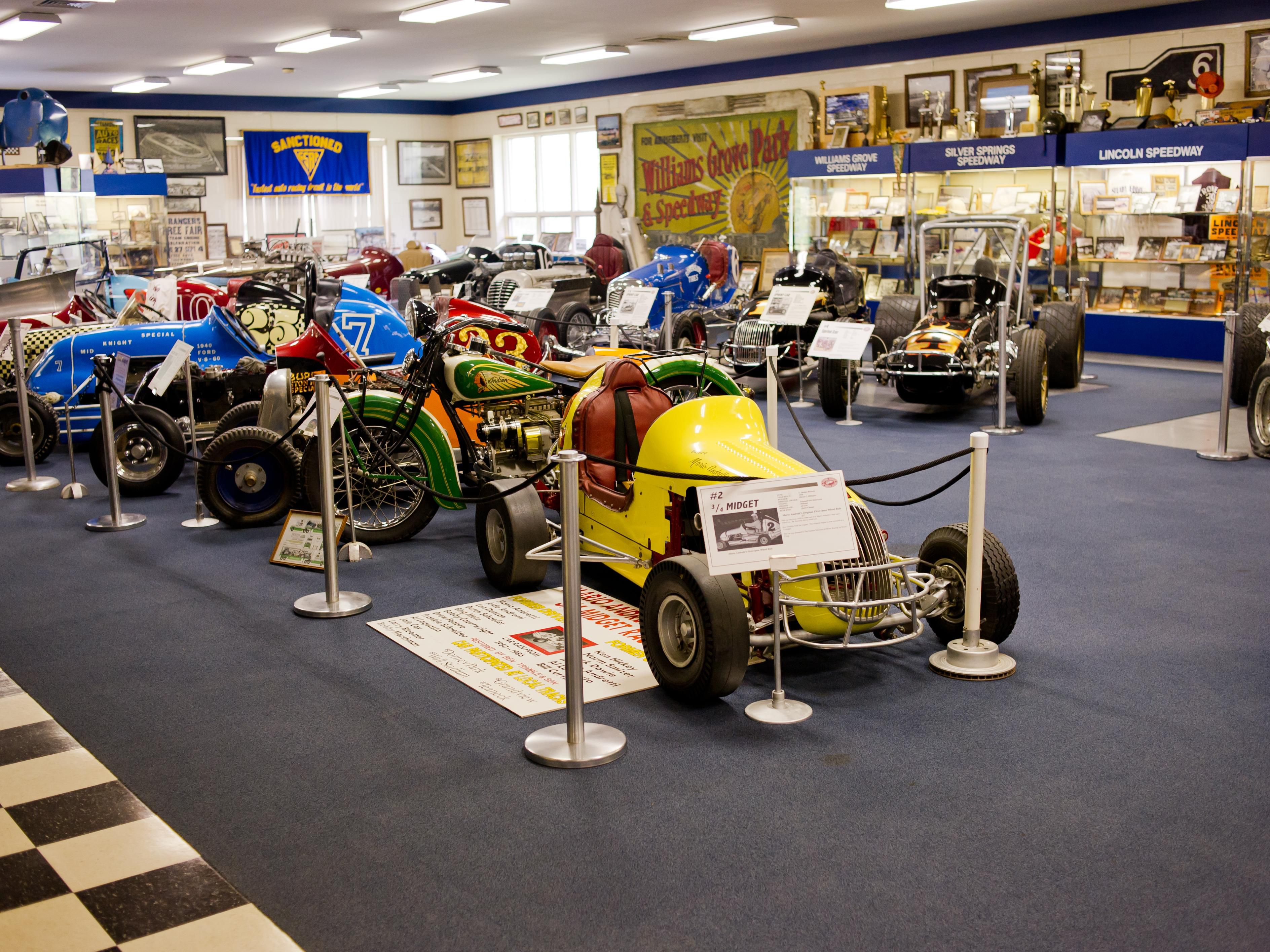 Eastern Museum of Auto Racing photo courtesy of York County CVB