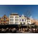 Tour the beautiful Korenmarkt surrounding the hotel