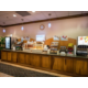 Holiday Inn Express complimentary breakfast for registered guests