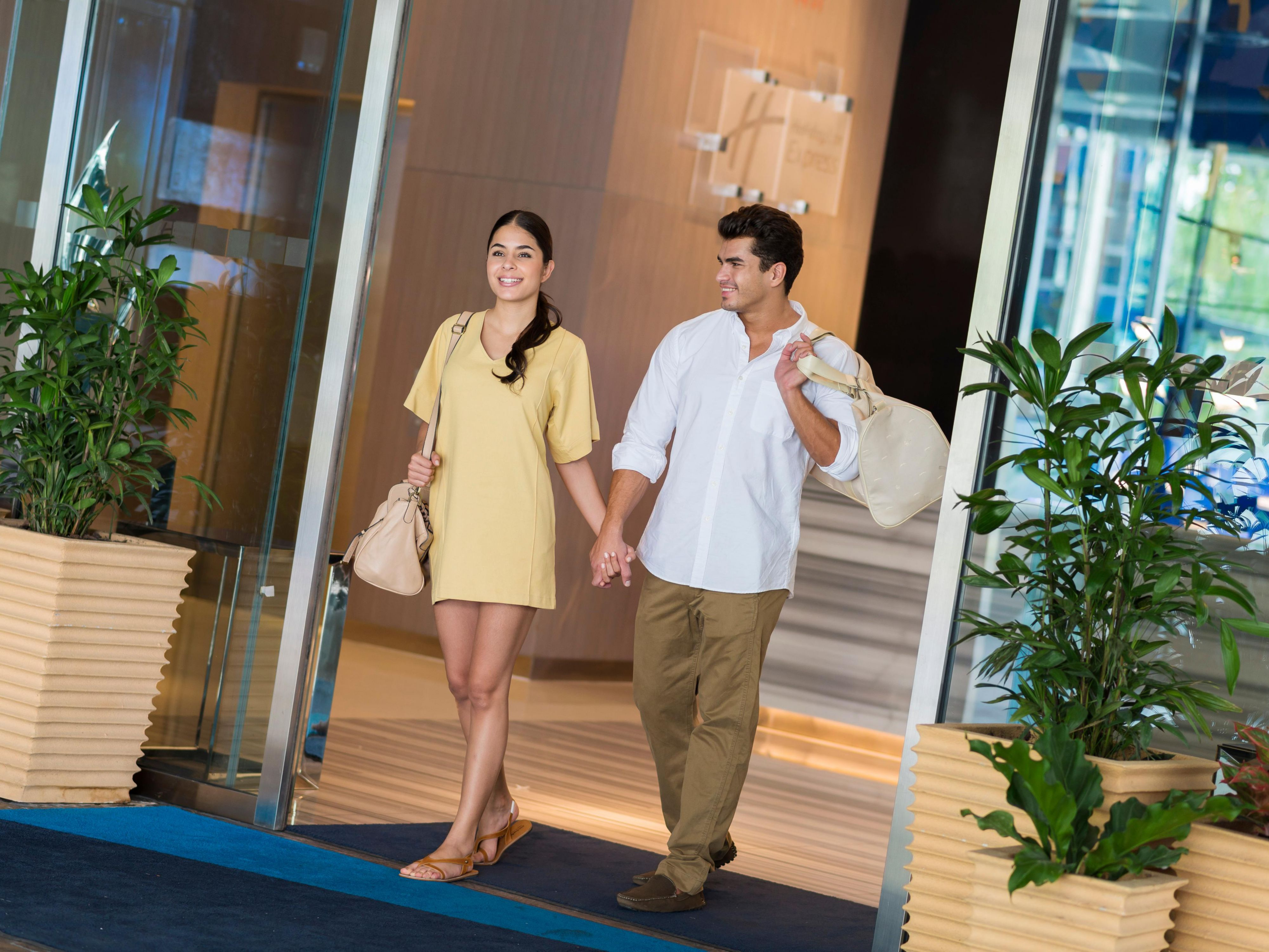 Shopping Malls take only 10 minute walk from our hotel