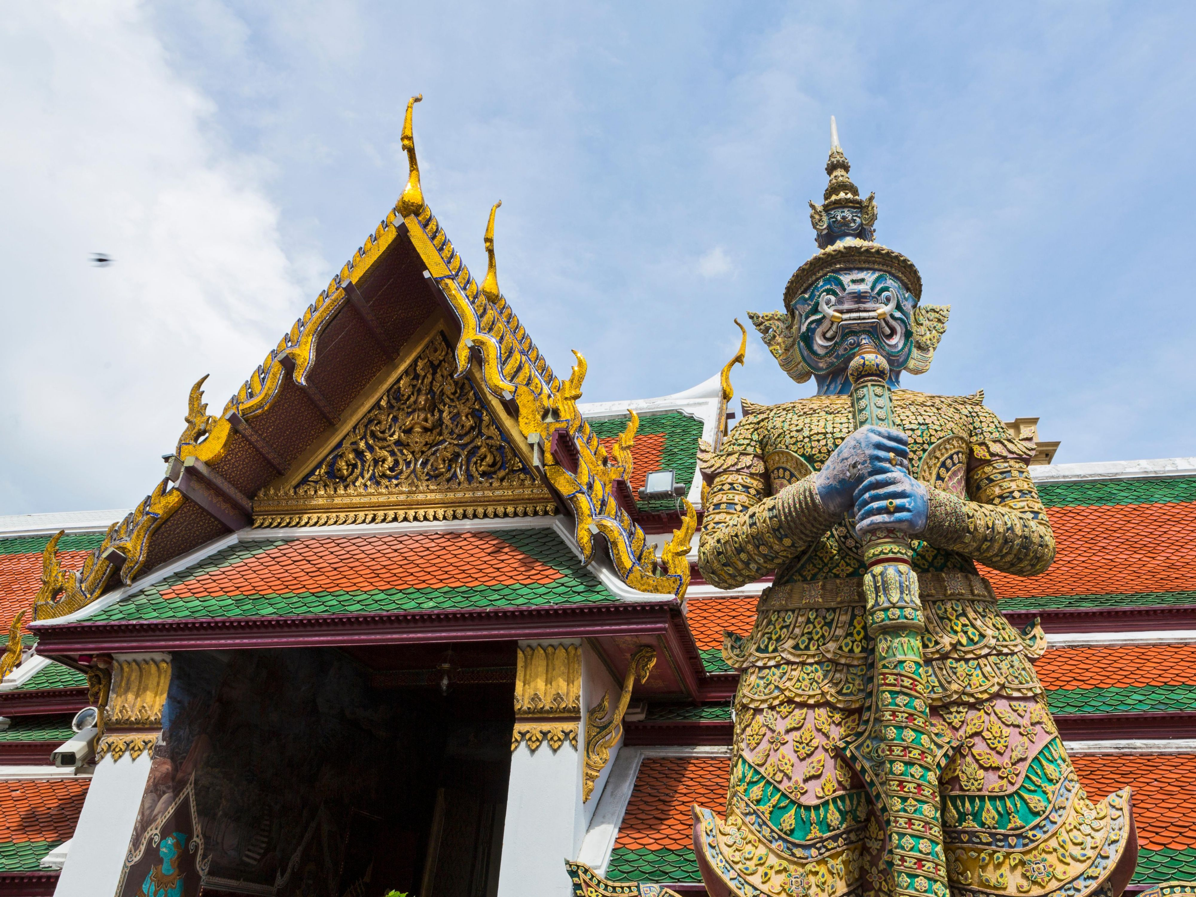Area Attractions - Mythical Giant at Temple of the Emerald Buddha