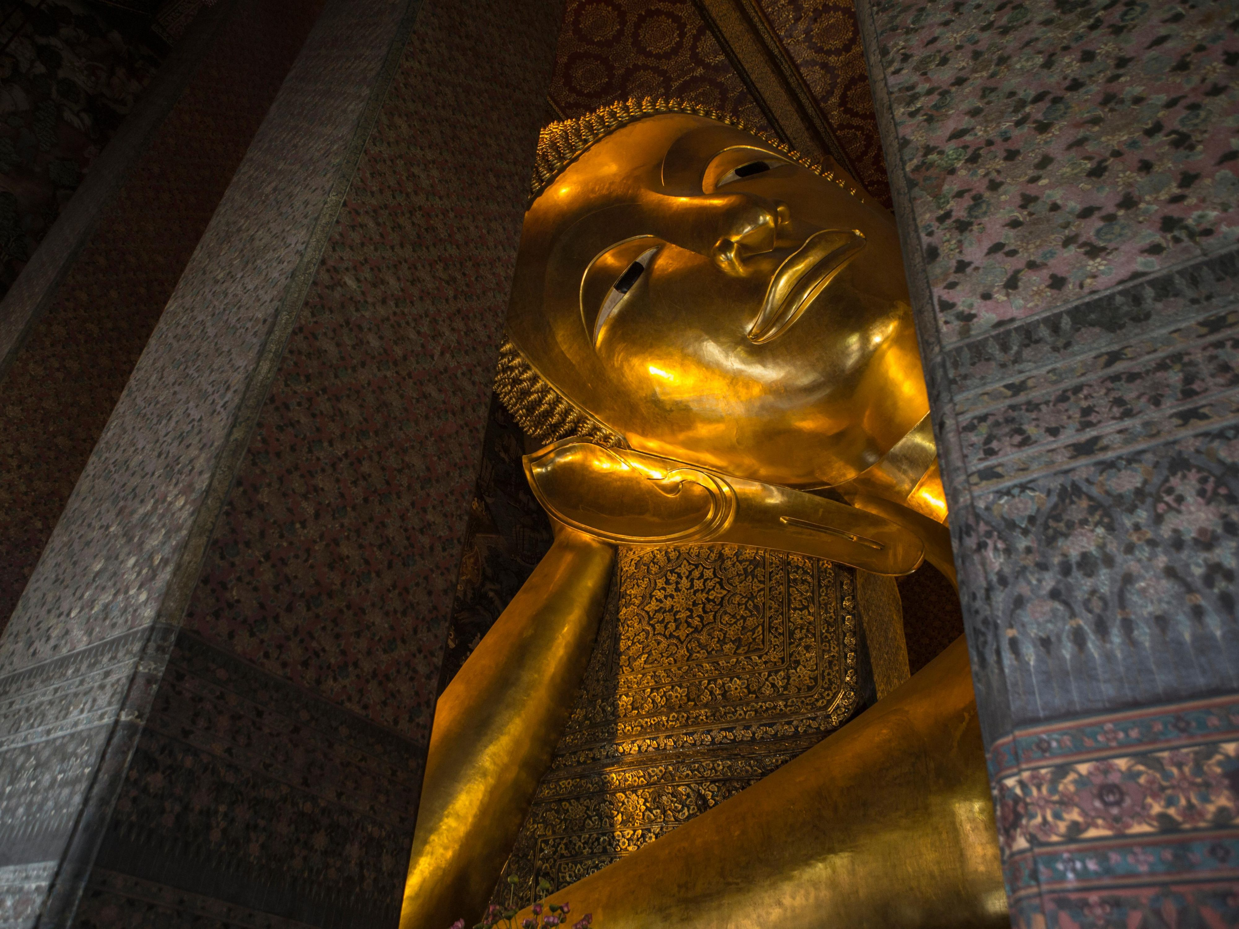 Area Attractions - Wat Pho or Temple of the Reclining Buddha