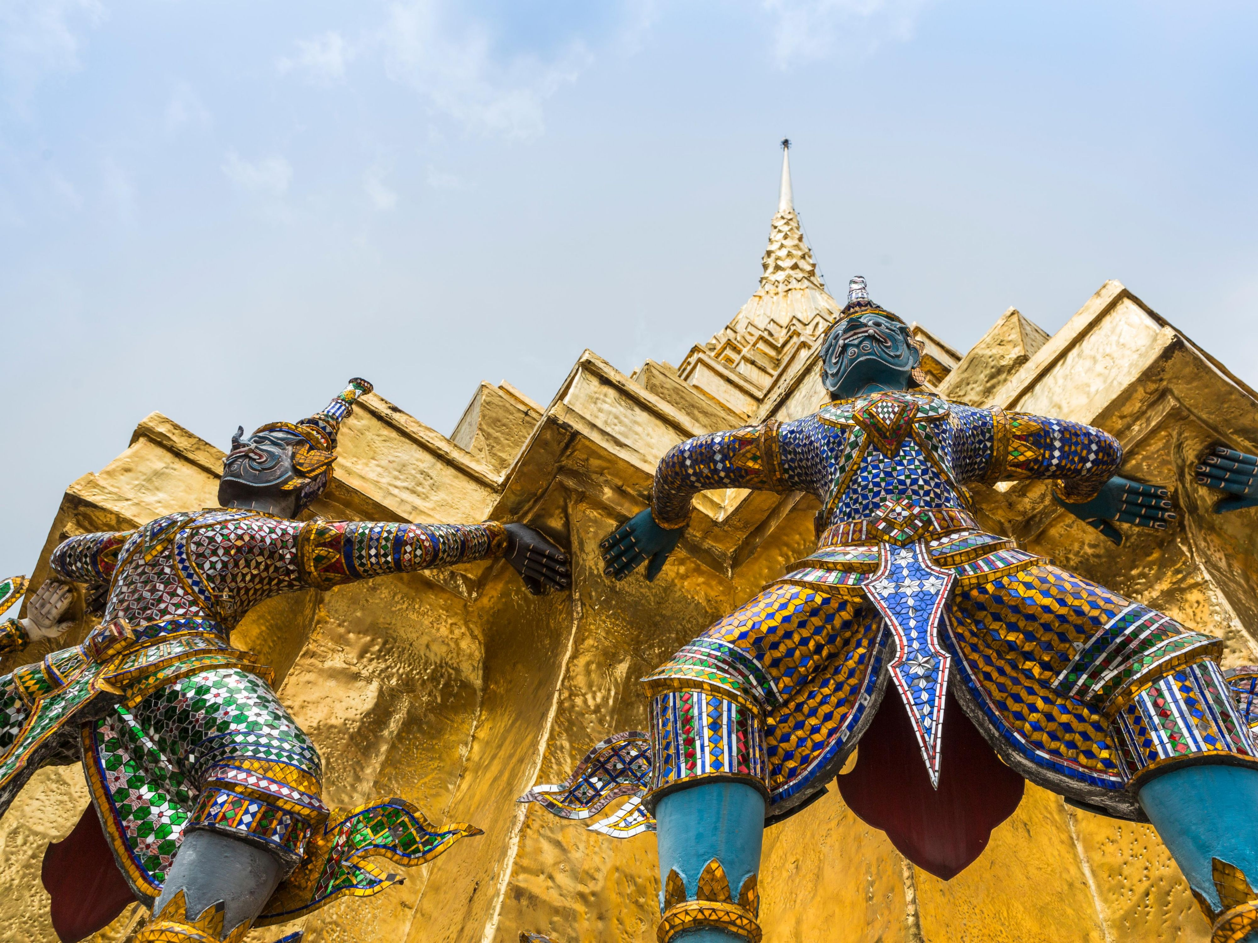 Attractions - Garuda decoration at Temple of the Emerald Buddha