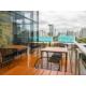 Great room - Outdoor Breakfast balcony area