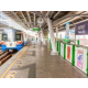 BTS Skytrain Nana Station located right in front of Sukhumvit Soi