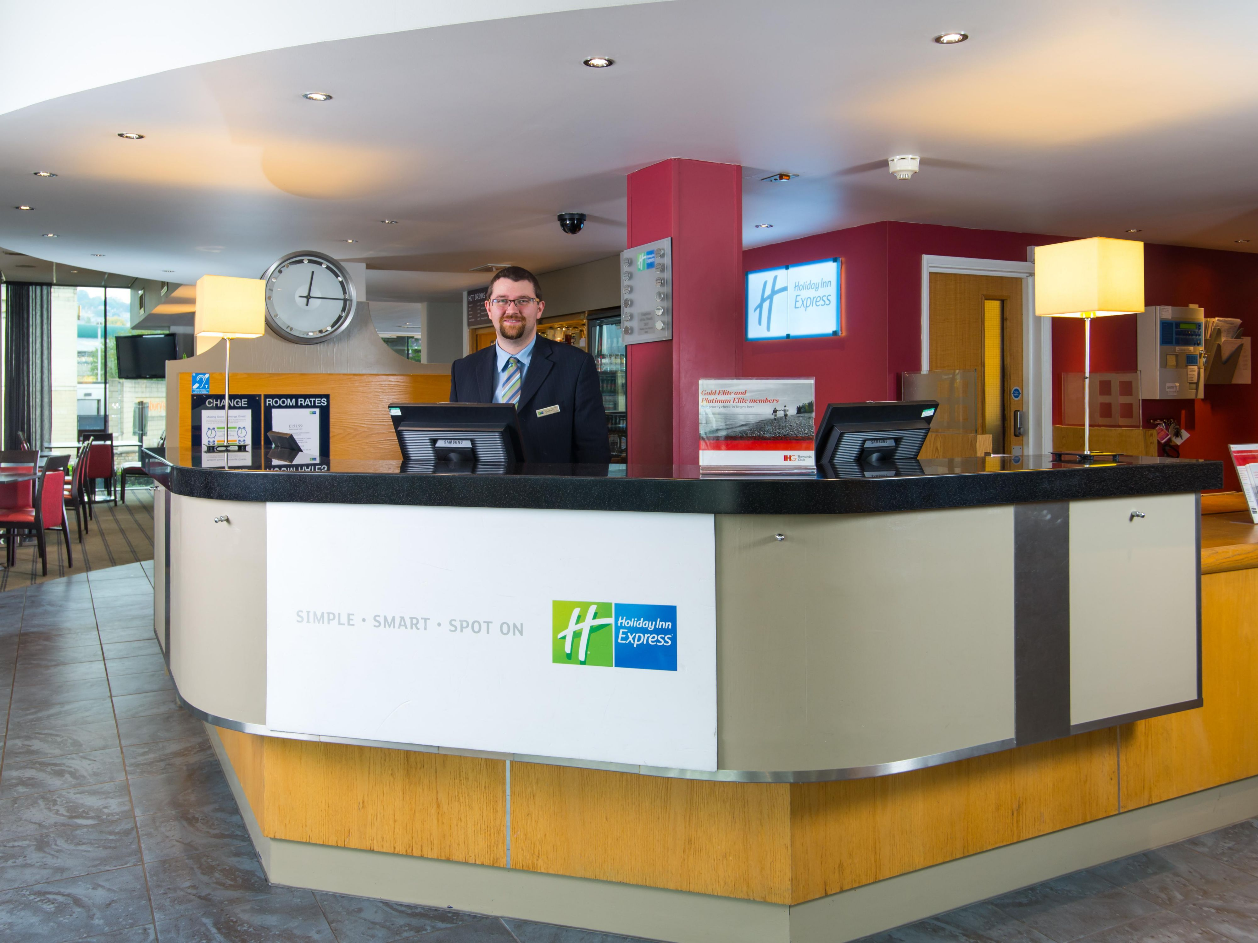 Our team are at hand at all times from check-in to check-out