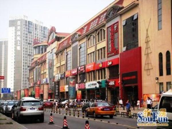 Area Attractions Wangjing Commercial Street