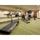 Burn those calories in our Fitness Room